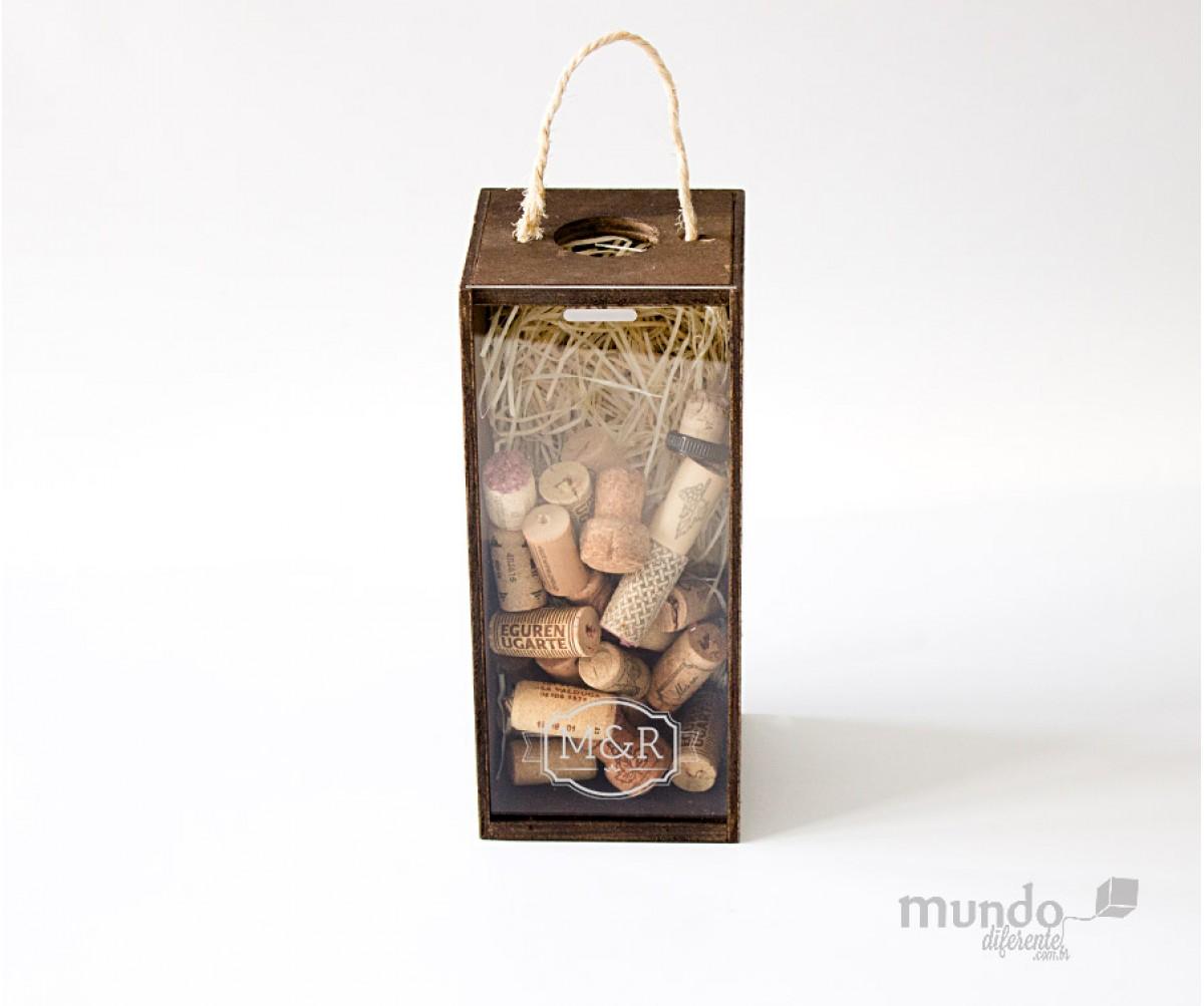 Caixa Personalizada para 01 taça ou para 1 garrafa de cerveja