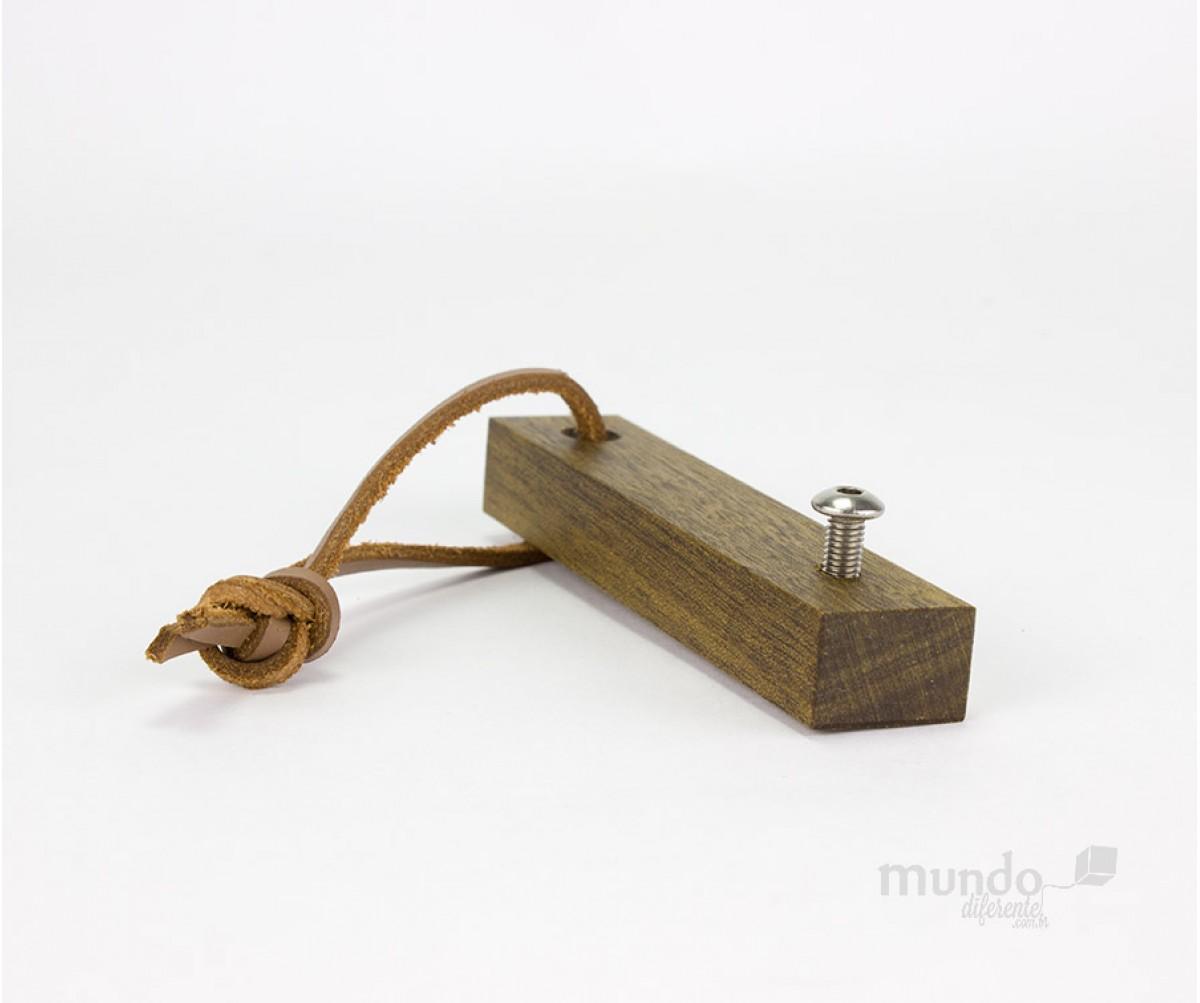 Abridor de Garrafas de Madeira Personalizado