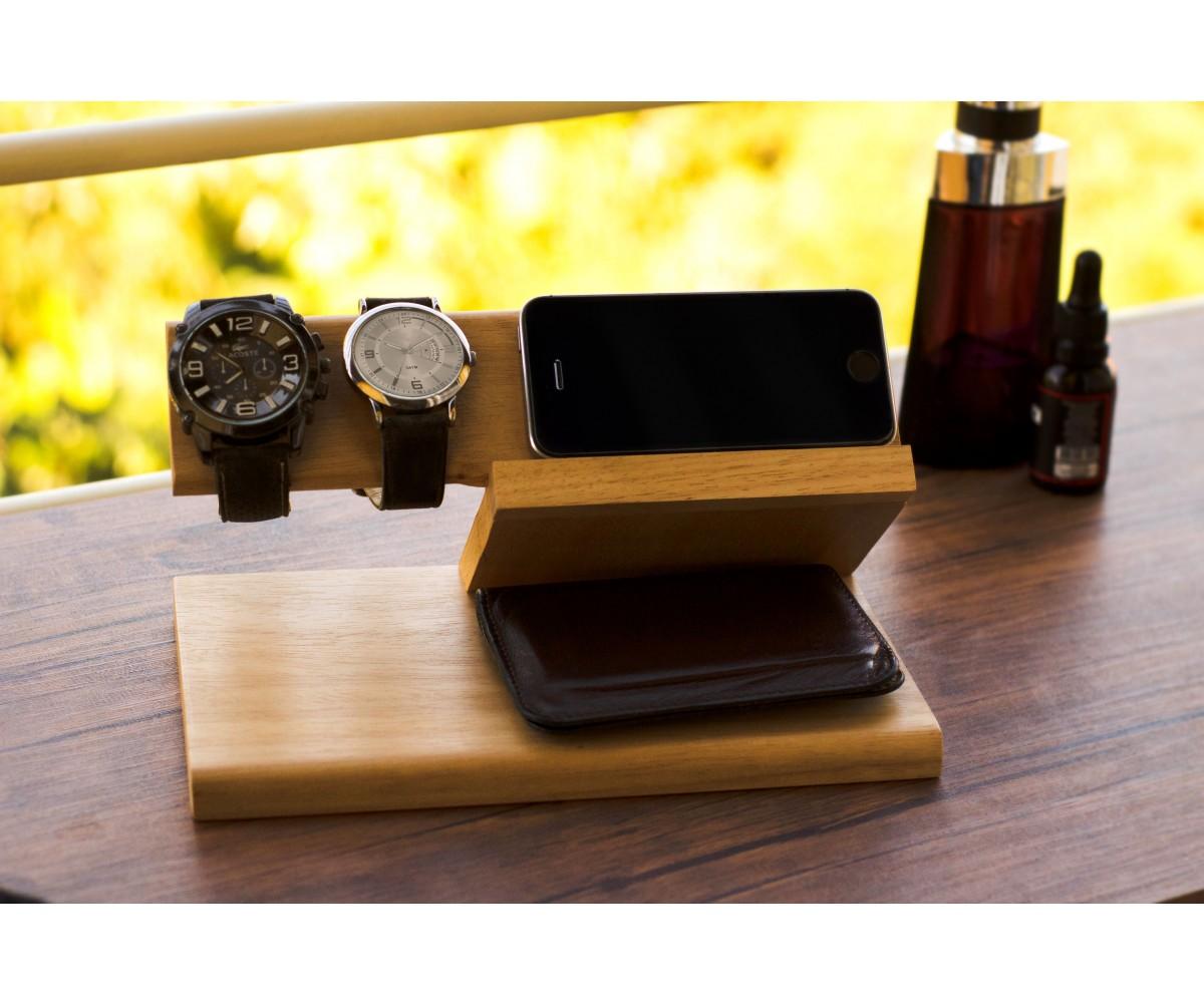 Dock Station - Organizador para celular, carteira, óculos...