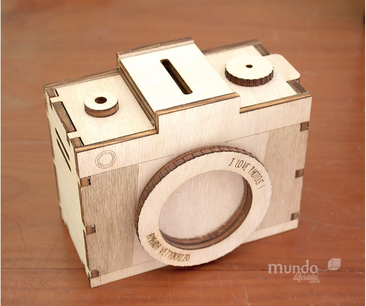 Câmera Fotográfica Decorativa