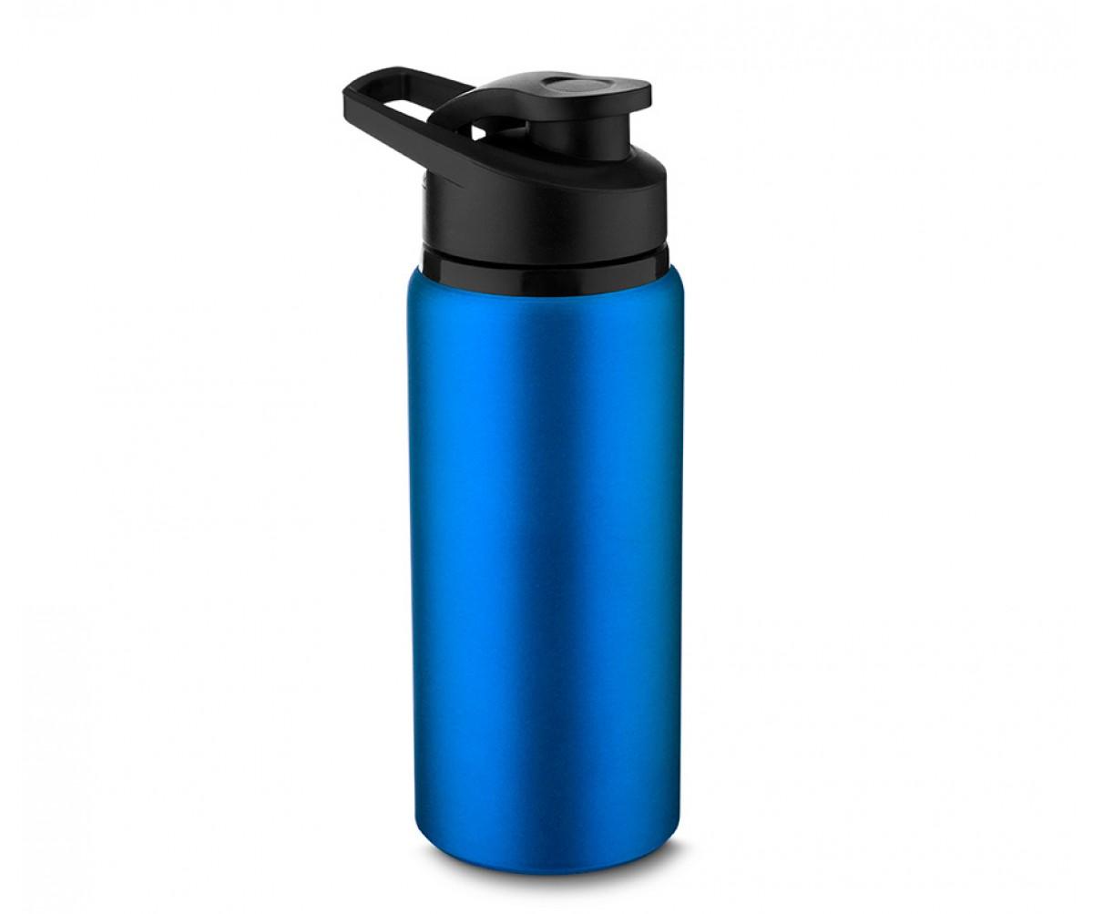 Garrafa de Alumínio 600ml Personalizada Azul