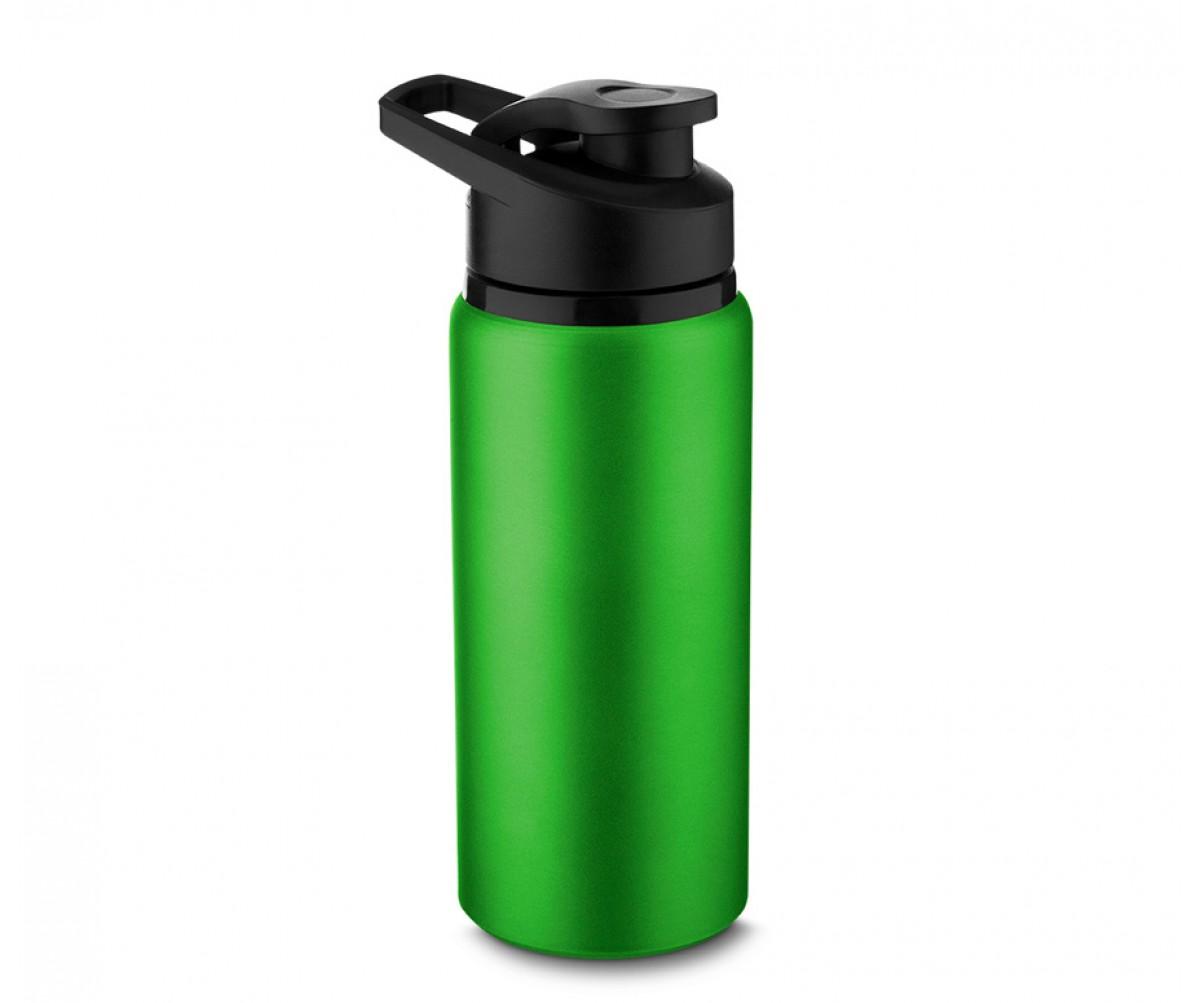 Garrafa de Alumínio 600ml Personalizada Verde