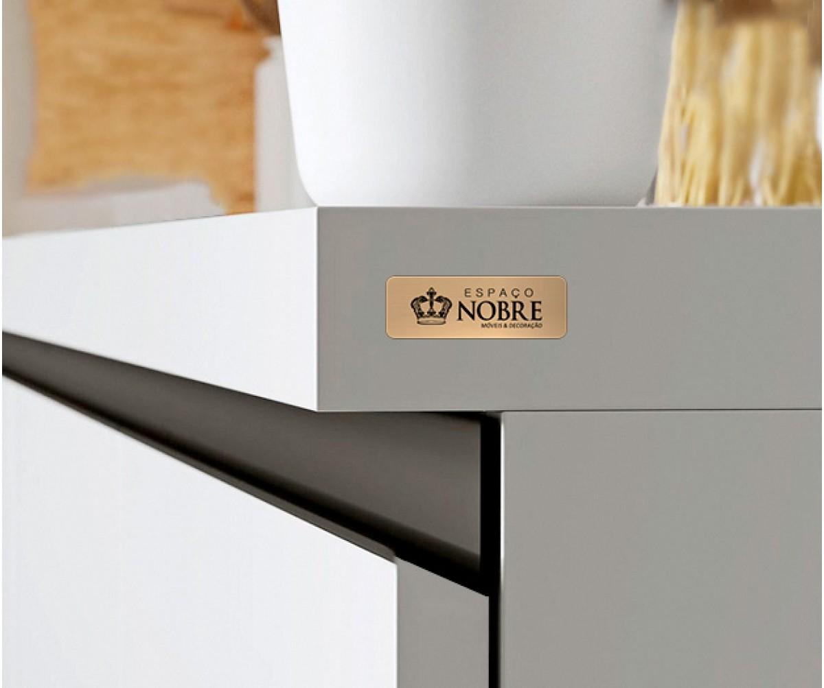 Tag autoadesiva personalizada dourada  3x1cm
